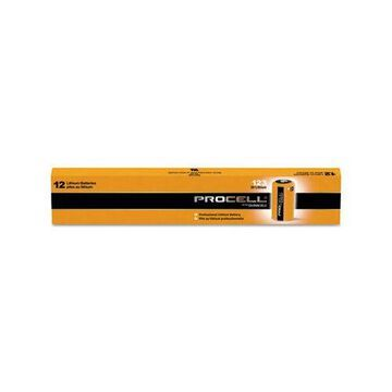 BATTERY,PROCELL CR123,12