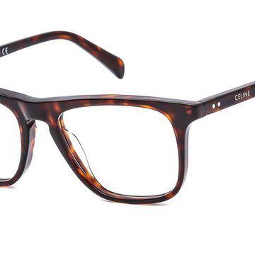 Celine CL50063I 052 Men's Glasses Tortoise Size 51 - Free Lenses - HSA/FSA Insurance - Blue Light Block Available