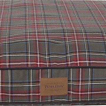 Pendleton Grey Stewart Petnapper Pillow Dog Bed w/Removable Cover