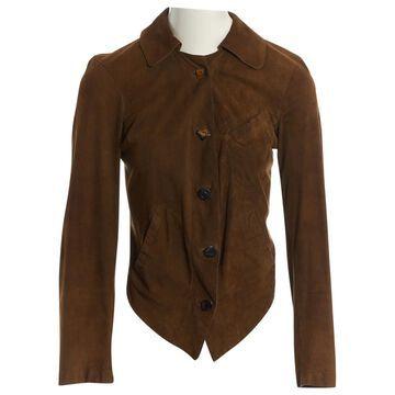 Vivienne Westwood Khaki Suede Jackets