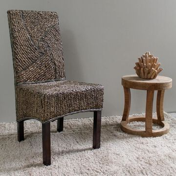 International Caravan Lambada Mahogany Dining Chair (Set of 2)