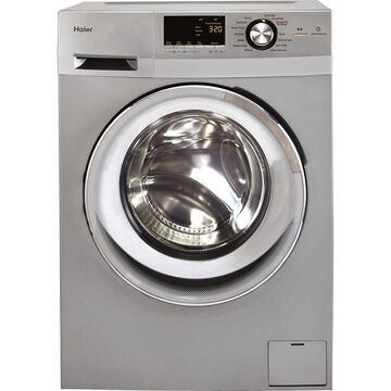 Haier 2-cu ft Ventless Combination Washer and Dryer (Silver)