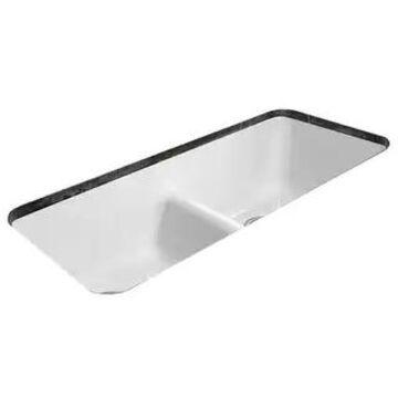 "Miseno MCI44-0UM-LD 43"" Cast Iron Double Basin Kitchen Sink for"
