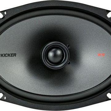 ''KICKER - 6'''' x 9'''' 3-Way Car Speakers with Polypropylene Cones (Pair) - Black''