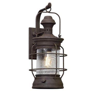 Troy Lighting Atkins 22-in H Centennial Rust Medium Base (E-26) Outdoor Wall Light | B5053