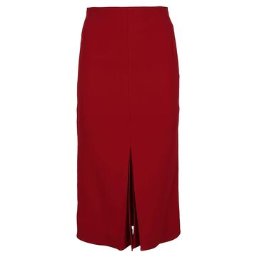Victoria Beckham Bonded Crepe Skirt