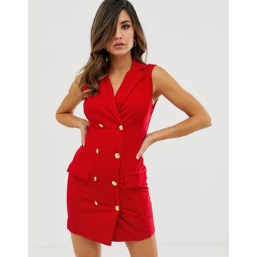 AX Paris tailored button front dress