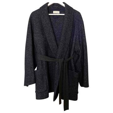 Isabel Marant Etoile \N Blue Wool Coats