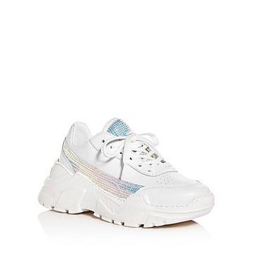 Joshua Sanders Women's Zenith Low-Top Platform Sneakers