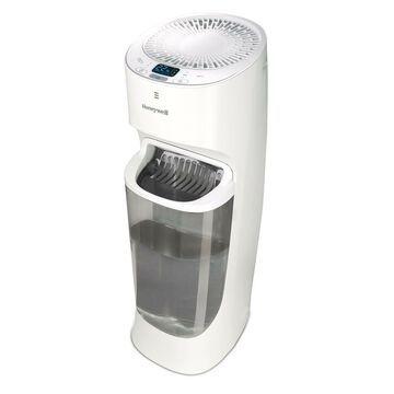 Honeywell Top Fill Tower Humidifier with Digital Humidistat White Auto Shut-O...