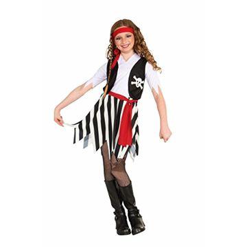 Forum Novelties Little Lady Buccaneer Costume Child Large