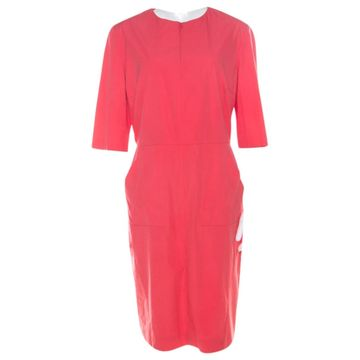 Jil Sander Pink Cotton Dresses