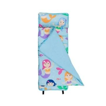 Wildkin's Mermaids Microfiber Nap Mat Bedding