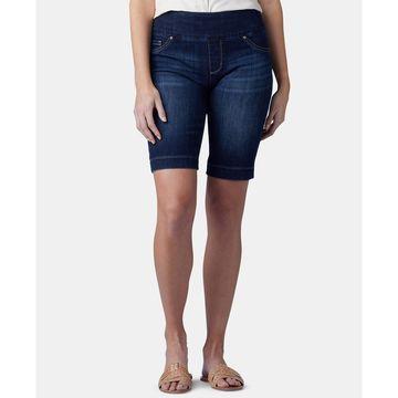 Lee Pull-On Denim Bermuda Shorts