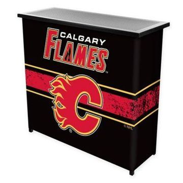 NHL Calgary Flames Portable Bar with Case