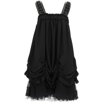 Simone Rocha Georgette Mini Dress