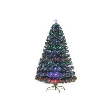 HomCom 3' Artificial Holiday Decoration Light Up Christmas Tree, Green