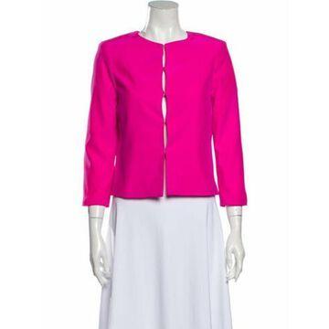 Silk Evening Jacket Pink