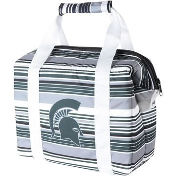 Michigan State Spartans Twelve-Pack Striped Cooler