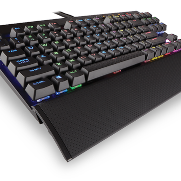Corsair K65 LUX RGB Compact Mechanical Gaming Keyboard CH-9110010-NA - Cherry MX RGB Red