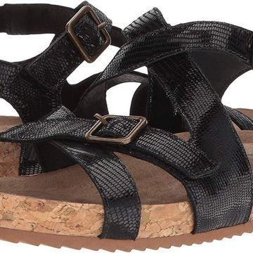 Walking Cradles Womens Pacific Open Toe Casual Ankle Strap