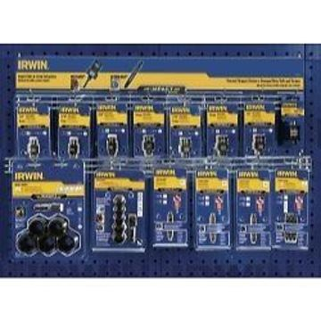 Irwin 1906750 25 pc Bolt-grip and screw-grip extractor merchandiser