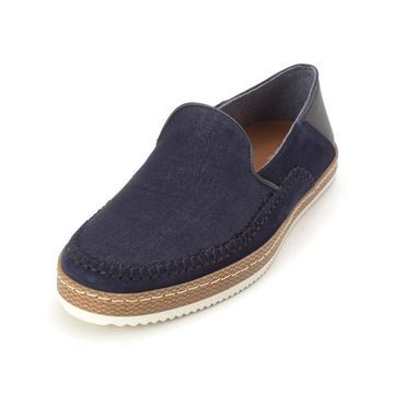 Bar III Mens Finch Leather Low Top Slip On Fashion Sneakers