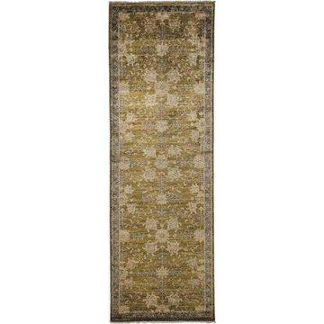 Solo Rugs One-of-a-kind Oushak Hand-knotted Runner Rug 3' 2
