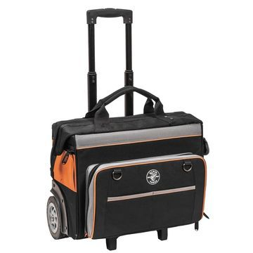 Klein tools tradesman pro organizer rolling tool bag 55452rtb
