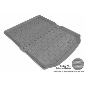 3D MAXpider 2013-2017 Cadillac ATS All Weather Cargo Liner in Gray with Carbon Fiber Look
