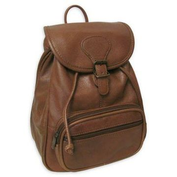 Amerileather Ladies' Leather Backpack in Brown