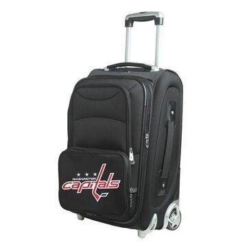 NHL Washington Capitals 20'' Softsided Luggage Carry-on Rolling in Black