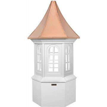 Good Directions Smithsonian Chesapeake Vinyl Cupola with Copper Roof - 26