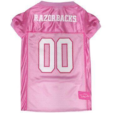 Pets First Arizona Razorbacks Pink Jersey, Medium