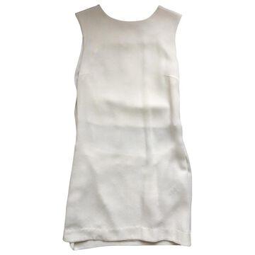 Kenzo White Silk Dresses