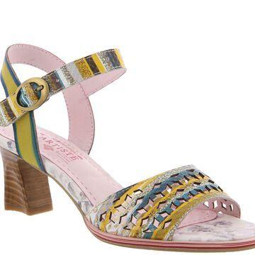 L'Artiste by Spring Step Leather Ankle Strap Sandals - Madelyn