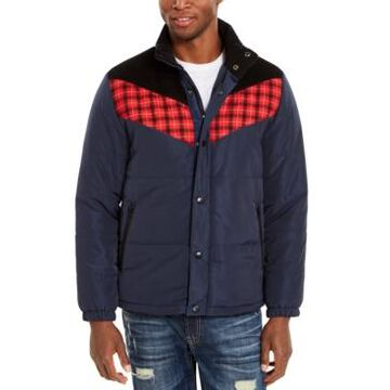 American Rag Men's Brady Colorblocked Puffer Jacket, Created For Macy's