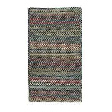 Bunker Hill Cross Sewn Rectangle Braided Rug