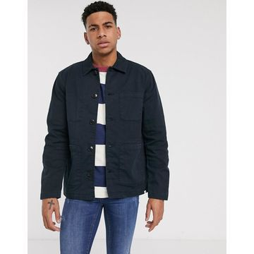 Farah Cassidy worker jacket in navy