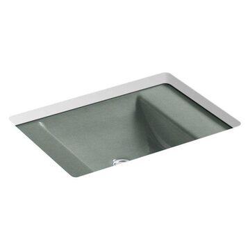 Kohler Ledges Under-Mount Bathroom Sink, Basalt