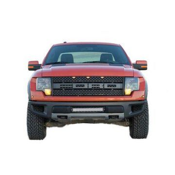 N-Fab LBM Bumper Mounts 10-14 Ford Raptor - Tex. Black