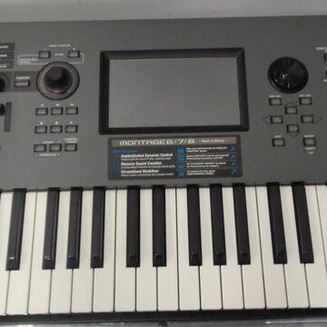 Used Montage 61 Key Synthesizer