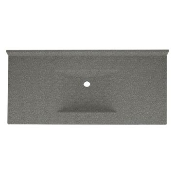 Swanstone 43W x 22D in. Contour Solid Surface Vanity Top
