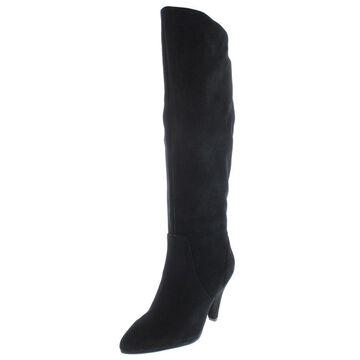 Steven By Steve Madden Womens Vergil Dress Boots Solid Almond Toe