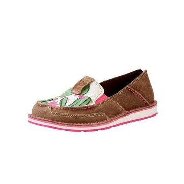 Ariat Casual Shoes Womens Cruiser Cactus Flower Aged Bark 10023012