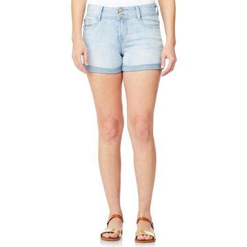 Juniors' WallFlower Luscious Curvy Bling Shortie Shorts