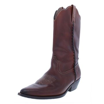 Patricia Nash Womens Bergamo Cowboy, Western Boots Embossed Whip Stitch