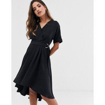 Y.A.S utility dress-Black