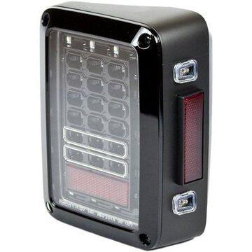 IPCW LEDT-420EBA LED Tail Lamps Fits 07-15 Wrangler (JK)
