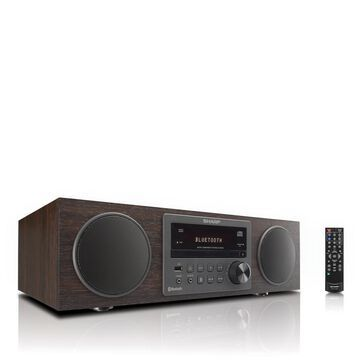 Sharp All-In-One Bluetooth Stereo CD Player Micro System with Remote
